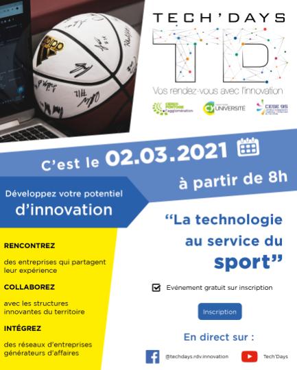 Visuel Tech'Days - Technologie au service du sport